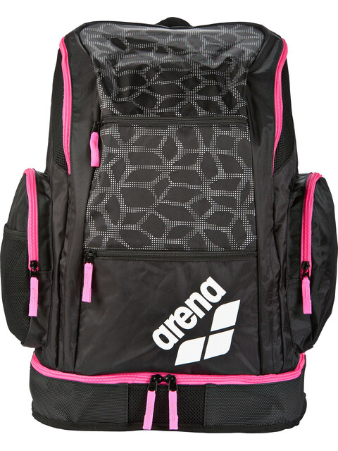 arena Spiky 2 Large Backpack 40l black x-pivot-fuchsia
